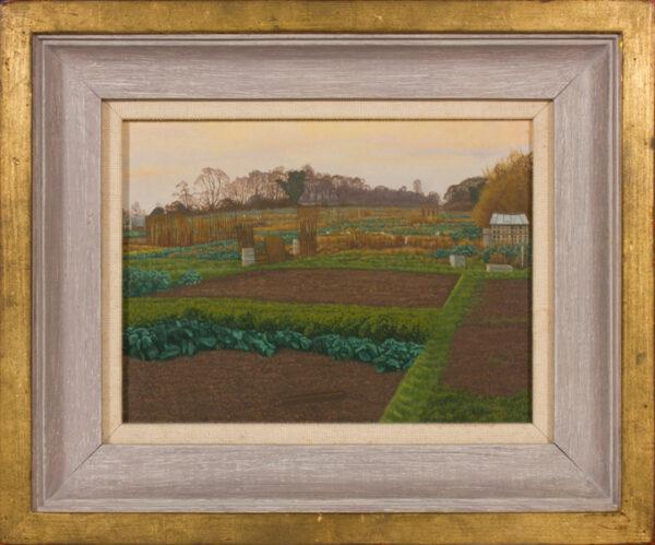 DEAKINS Tom (b.1957) - 'Winter's Evening, Saffron Walden'.