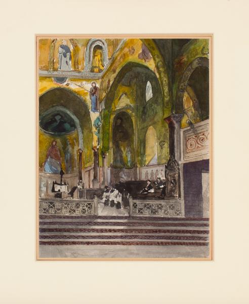 DELAUNAY Pierre (1870-1915) - Sicily.