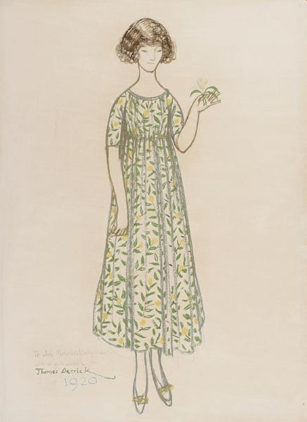 DERRICK Thomas (1885 -1954) - 'Christine Mavrogordato'.