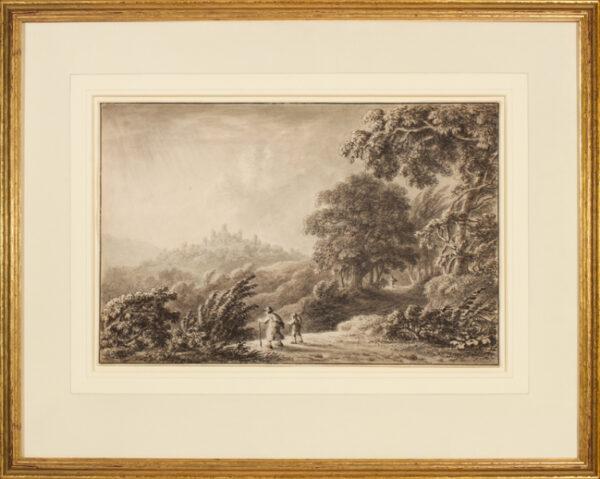 DEVIS Anthony (1729-1817) - Capriccio landscape.