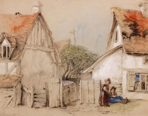 DIBDIN Thomas Colman (1810-1893) - A Shambles.