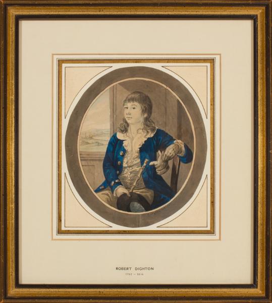 DIGHTON Robert (1752-1814) - Portrait of a Boy.