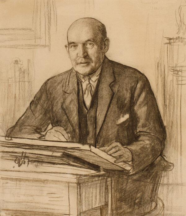 DODD Francis R.A. N.E.A.C. (187401949) - 'Muirhead Bone drawing'.