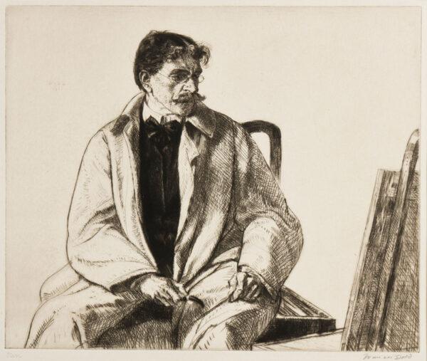DODD Francis R.A. (1874-1949) - Etching.