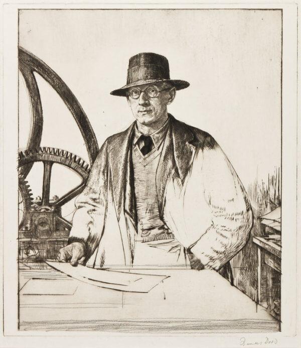 DODD Francis R.A. (1874-1949) - Stanley Anderson C.