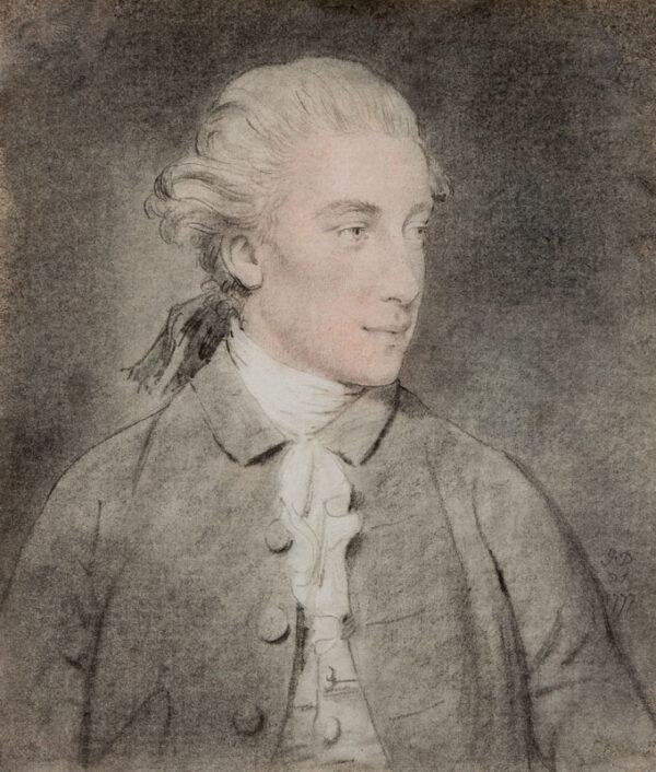DOWNMAN John A.R.A (1750-1824) - 'John Mortlock' (1755-1816) M.