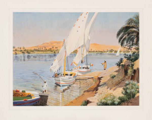DOYLE John P.P.R.W.S. (b.1928) - Egypt.