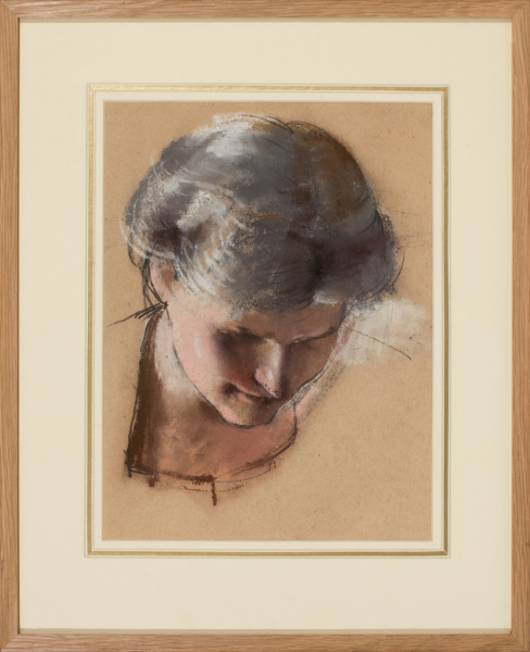 DRING William R.A. R.W.S. (1904--1990) - Head study.