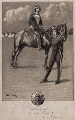 """ANON (Nineteenth Century) - """"Death or Glory"""" / Oh what a glorious Death / The 17th Lancers'."""
