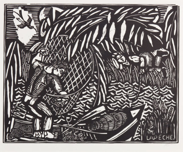 DUFY Raoul (1877-1953) - 'La Peche'.