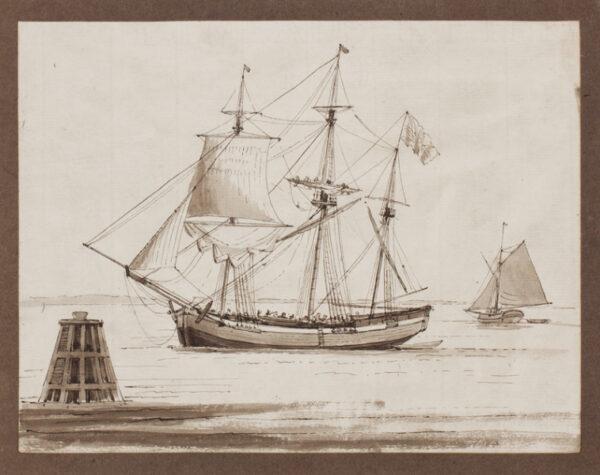 DURANT Captain. (fl.1790-1830) - Merchantman.