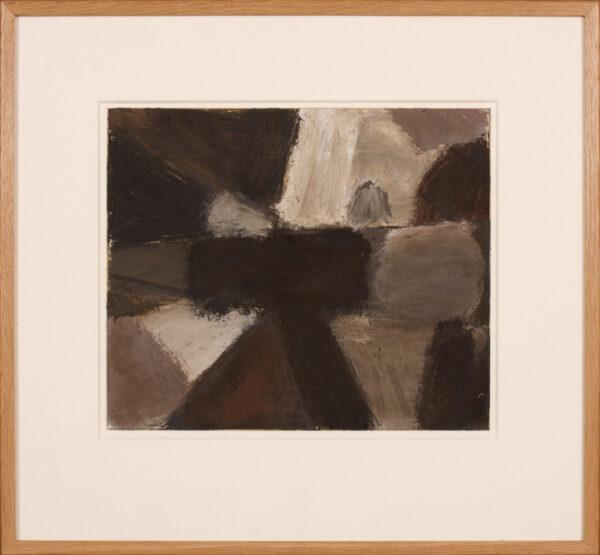 TURNER DURRANT Roy (1925-1998) - Oil on card.