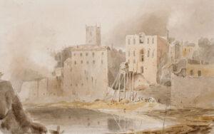 EAGLES Rev. John (1783-1855) - Bristol, buildings on the Avon.