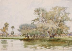EAST Sir Alfred R.A. P.R.B.A. (1844-1913) - Watercolour.