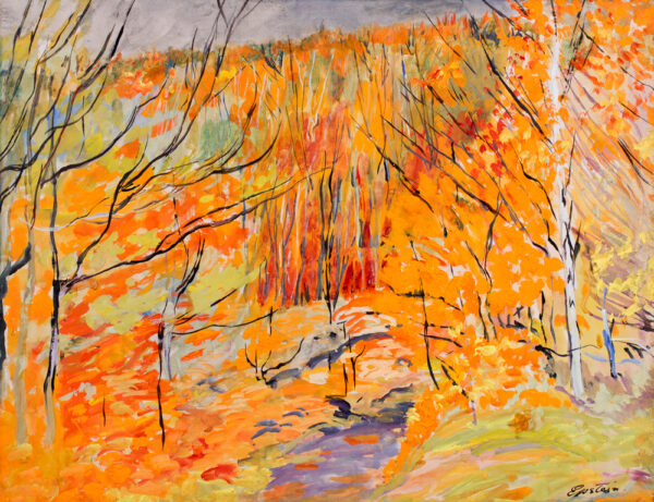 EPSTEIN Sir Jacob L.G. (1880-1959) - Epping Forest: Autumn.