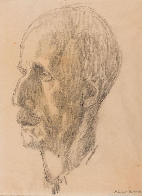 EVANS Powys ('Quiz') (1899-1981) - 'D.