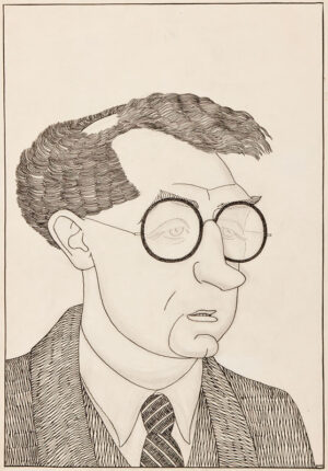 EVANS Powys ('Quiz') (1899-1981) - Sir John Collings Squire (1884-1958), poet and editor.