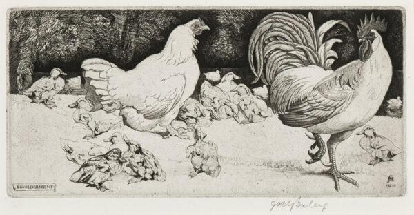 EXLEY James Robert Granville R.E. (1878-1967) - 'Bewilderment'.