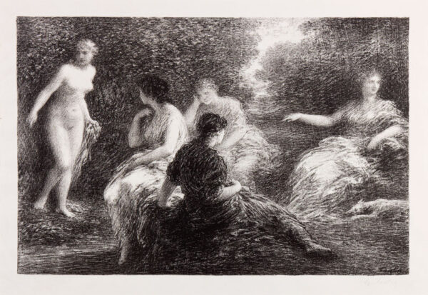 FANTIN-LATOUR Henri (1836-1904) - 'Baigneuses' (Hediard 128 IV).