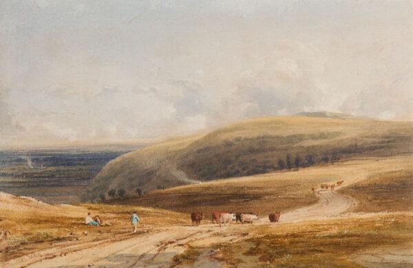 FIELDING Anthony Copley Vandyke P.O.W.S. (1787-1855) - Sussex.