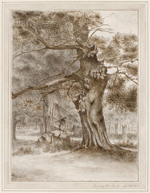 FINCH Heneage (Earl of Aylesford) (1751-1812) - 'Packington Park', Warwickshire.