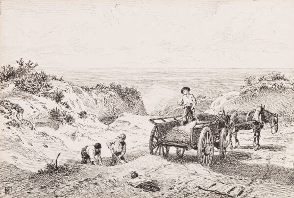 FOSTER Myles Birket R.W.S. (1825-1899) - Surrey.