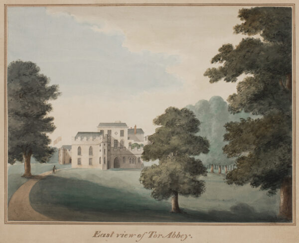 FRANKLIN Henry (Circa 1800) - 'Tor Abbey', Devon; Views from the Front, from the East and from the West.