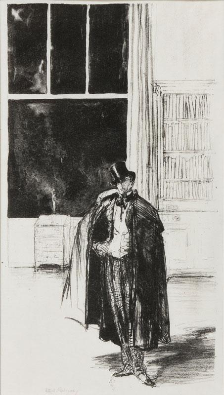 GABAIN Ethel Leontine (1883-1950) - 'Un Monsieur'.