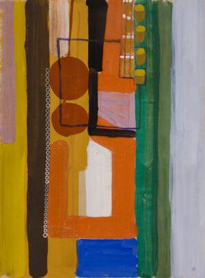 GARNETT Angelica (1918-2012) - 'Interior at Charleston'.