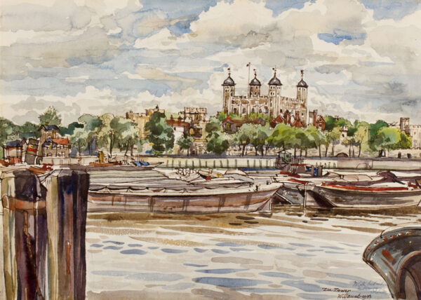 GAUNT William (1900-1980) - The Tower of London.