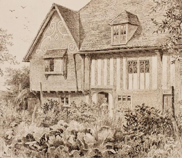 GAYE Howard (Architect Exhibited 1880-1891) - Kent.