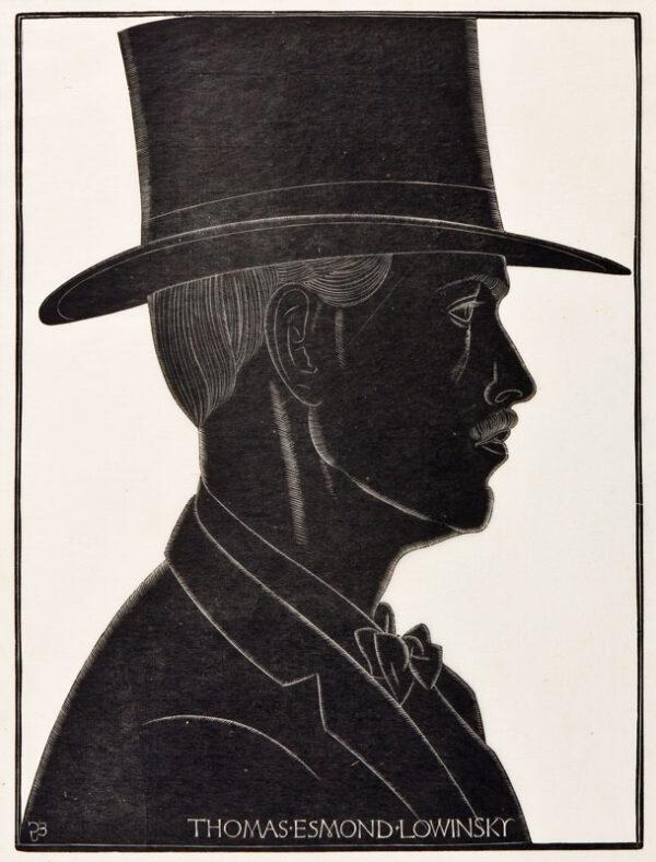 GILL Eric (1882-1940) - 'Thomas Esmond Lowinsky'.