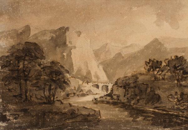 GILPIN Rev. William (1724- 1804) - Picturesque capriccio.