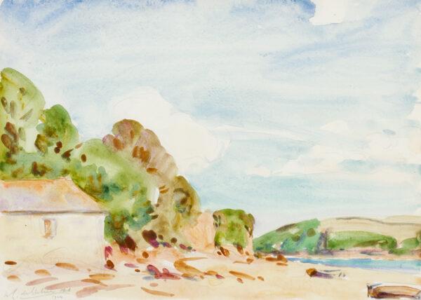 GLEHN Wilfred de R.A. (1870-1951) - Cornwall.