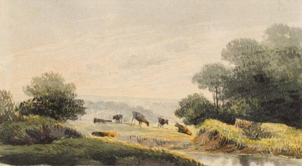 GLOVER John O.W.S. (1767-1849) - A marl pit.