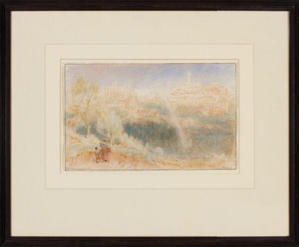 GOODWIN Albert R.W.S. (1845-1932) - 'Siena – the Rainbow'.