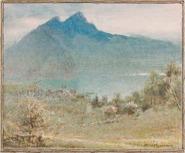 GOODWIN Albert R.W.S. (1845-1932) - Switzerland.