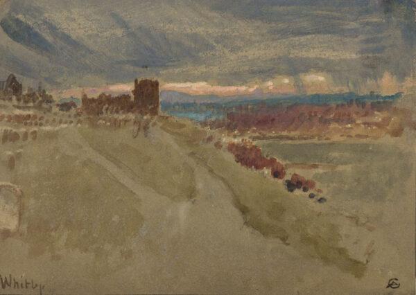 GOODWIN Albert R.W.S. (1845-1932) - Yorkshire.