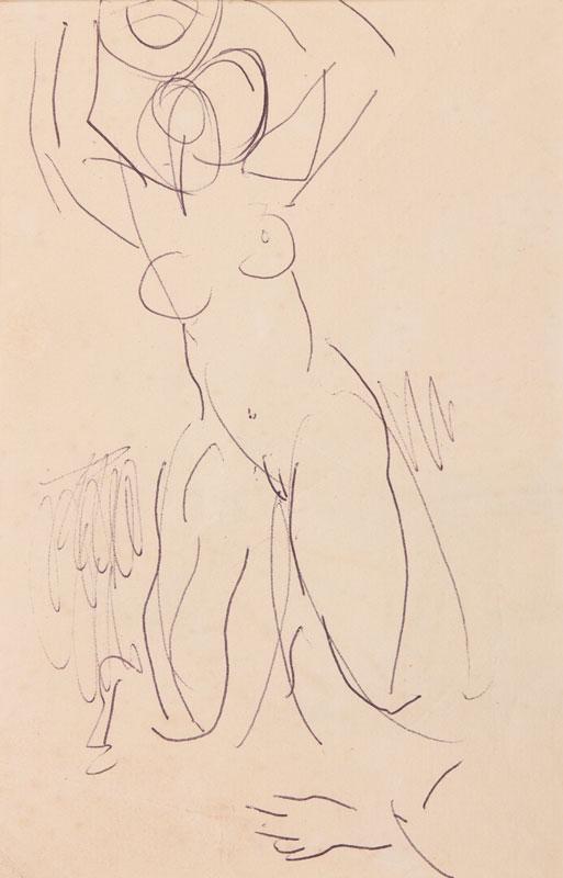 GRANT Duncan L.G. (1885-1978) - Bather.