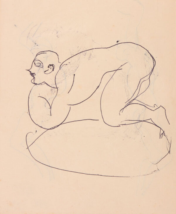 GRANT Duncan L.G. (1885-1978) - Figure study.