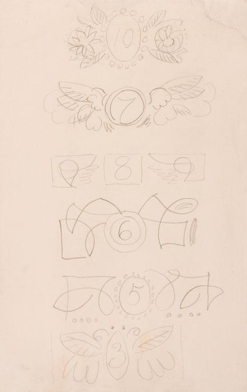 GRANT Duncan L.G. (1885-1978) - Cartouche designs II.