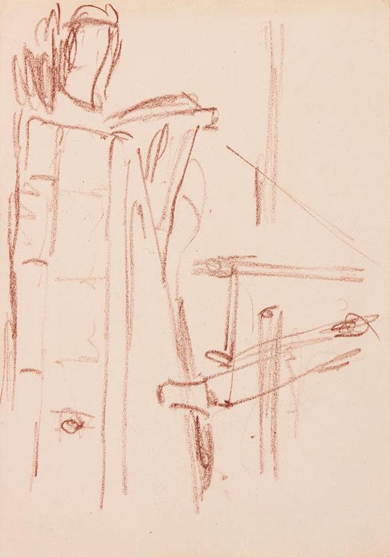 GRANT Duncan L.G. (1885-1978) - Corner of the Studio.