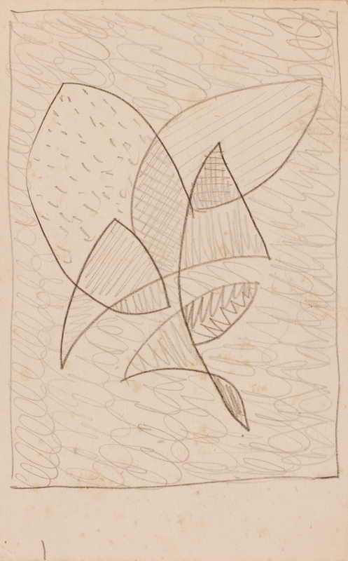 GRANT Duncan (1885-1978) - Design, possibly for a rug or fabric.