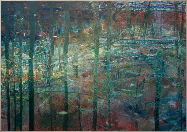 GREENHALF Matthew (Contemporary) - 'Blue Bridge'.