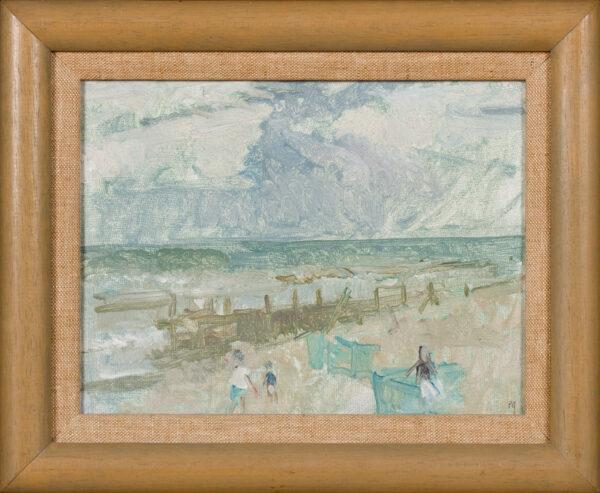 GREENHAM Peter C.B.E. R.A (1909-1992) - 'Sea shore, Norfolk'.
