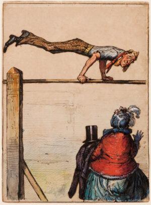 GRISET Ernest (1844-1907) - 'Lawks!'.