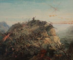 GRISET Ernest (1844-1907) - South Africa / Boer War.