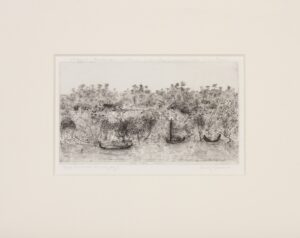 GROSS Anthony C.B.E. R.A. (1905-1984) - 'Souvenir de Voyage'; Naaf river, Arakan.
