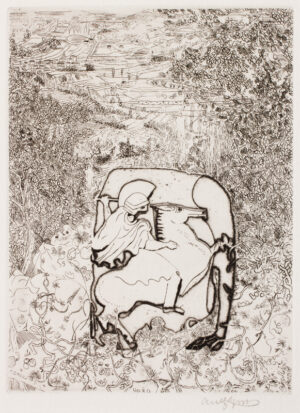 GROSS Anthony R.A. (1905-1984) - Six etchings to illustrate Sixe Idyllia of Theocritus (1971).