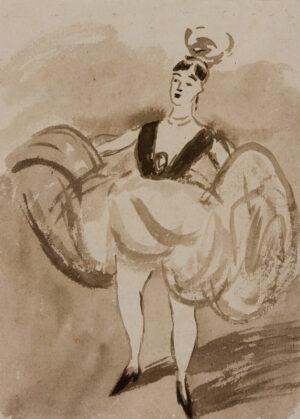 GUYS Constantin (1802-1892) - The Dancer.